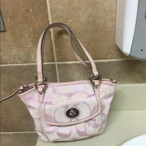 Adorable coach handbag